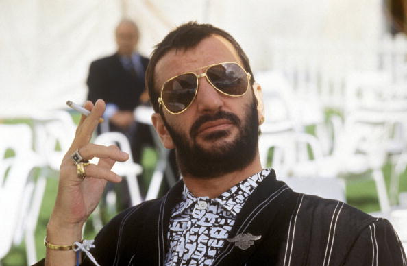 UNSPECIFIED - JULY 26:  Photo of Ringo STARR; posed, holding cigarette, wearing sunglasses  (Photo by RB/Redferns)