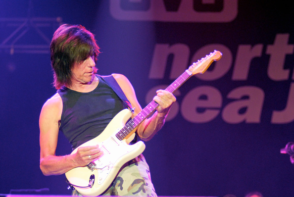 ROTTERDAM, NETHERLANDS - JULY 14: Jeff Beck, guitar, performs at the North Sea Jazz Festival in Ahoy on July 14th 2006 in Rot