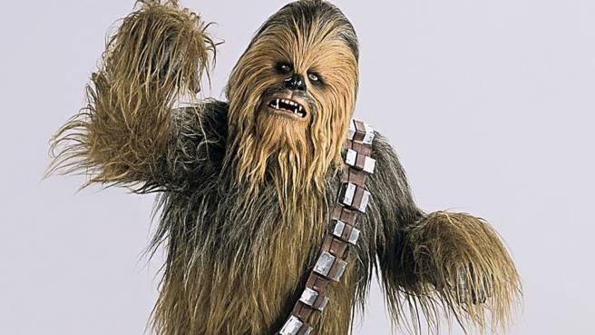 Chewbacca (gespielt von Peter Mayhew)