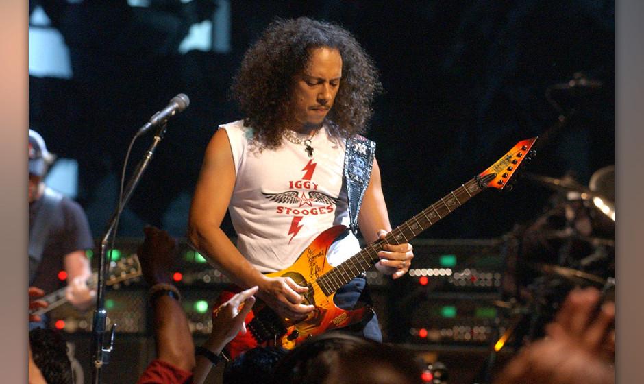Metallica - Kirk Hammett verlor sein iPhone