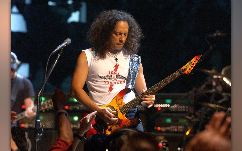 Kirk Hammett of Metallica during 2003 MTV Video Music Awards - Show at Radio City Music Hall in New York City, New York, Unit