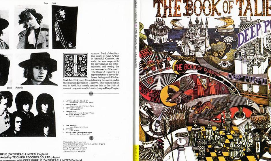 Deep Purple - Book of Taliesyn (Mono)