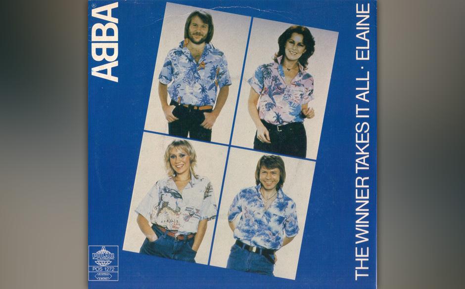 """1. """"The Winner Takes It All"""".  Das späte Meisterwerk aus dem Jahr 1980, allgemein gedeutet als Björn Ulvaeus' elegisc"""