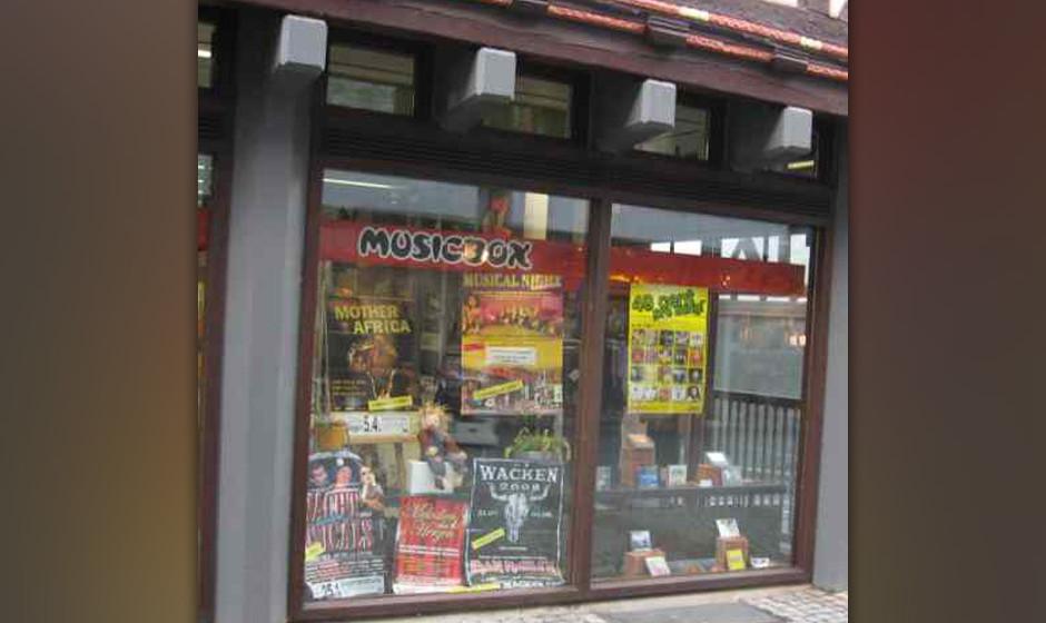 Plattenladen der Woche: MUSICBOX Dillenburg Hauptstr. 83 35683 Dillenburg