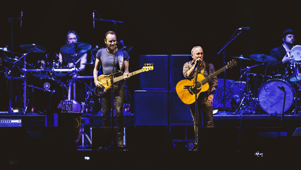Paul Simon & Sting - On Stage Together live in Berlin