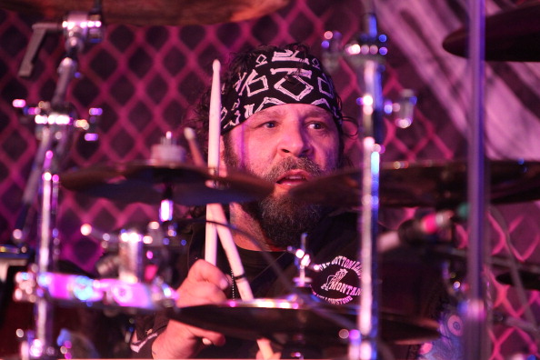 SAYREVILLE, NJ - MAY 17:  A.J. Pero performs at the Twisted Sister 30th Anniversary Stay Hungry Tour  at Starland Ballroom on