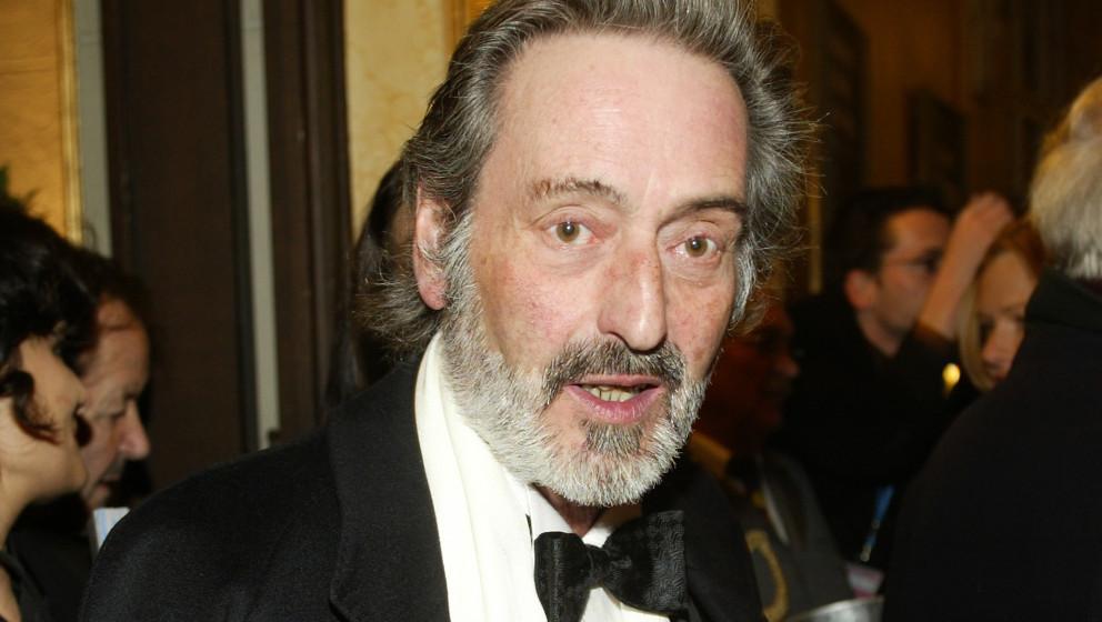 MUNICH, GERMANY - JANUARY 14: German Film director Helmut Dietl attends the Bavarian Film Awards at Munich's Prinzregententhe