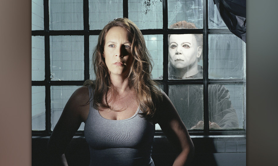 Laurie Strode (JAMIE LEE CURTIS) und Michael Myers (BRAD LOREE) #