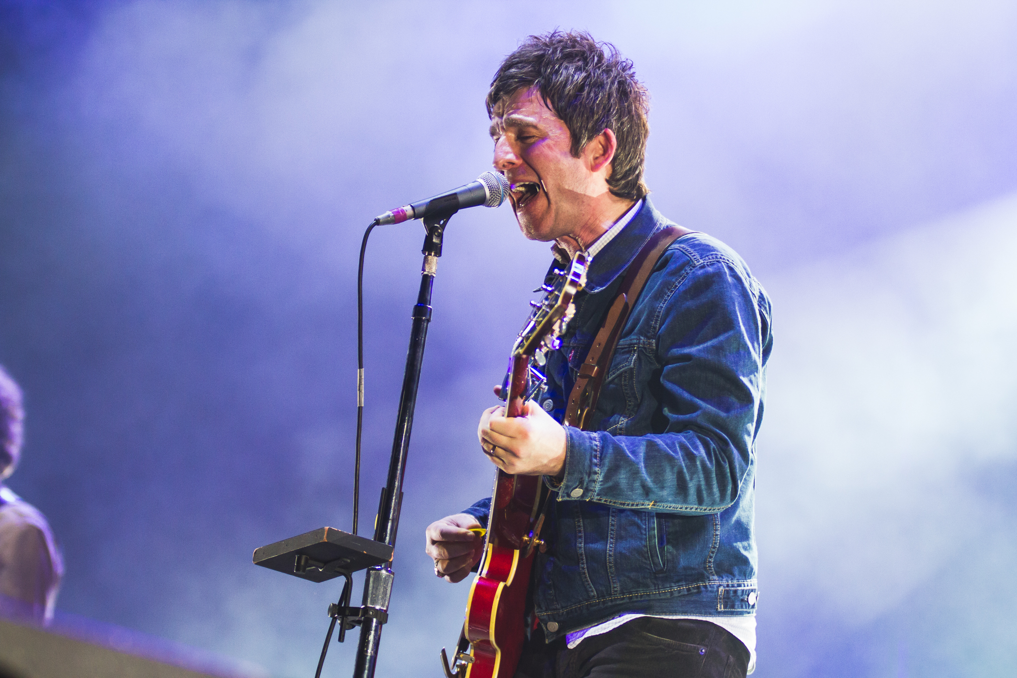 March 9, 2015 - Manchester, England - Noel Gallagher's high flying birds perform at the Manchester Arena 2015