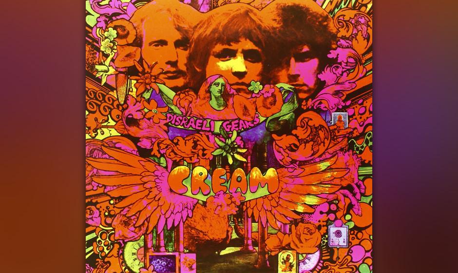 Cream - 'Disraeli Gears' (Polydor, 1967):  Für sein zweites Album setzte das spektakuläre Trio einen 'Strange Brew' an, der