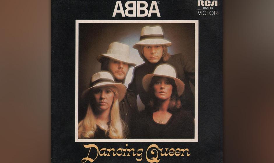 5. 'Dancing Queen'.  Der Gipfel der ABBA-Adoration. Björn und Benny schrieben das Stück zur Hochzeit von König Gustav mit