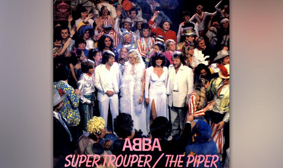 4. 'Super Trouper'.  Unter der Oberfläche ein Drama. Wie keine zweite Band beherrscht ABBA den Trick,  Glockenspiel-Melodien