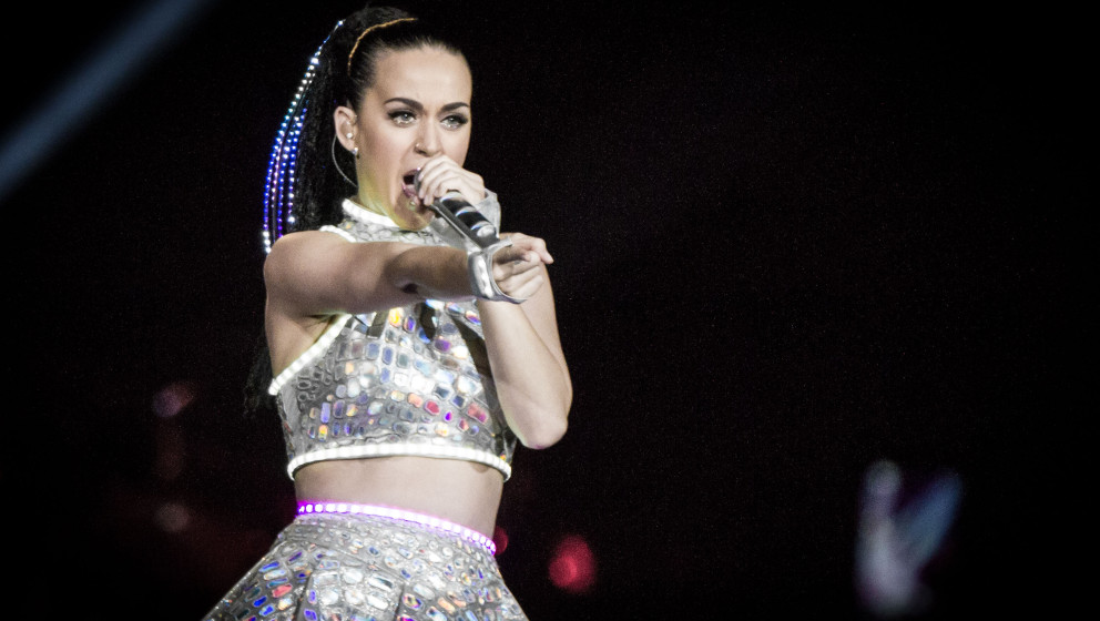 Katy Perry gibt sich sexy in Berlin.