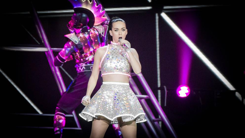 Katy Perry bei ihrem letzten Konzert in Berlin