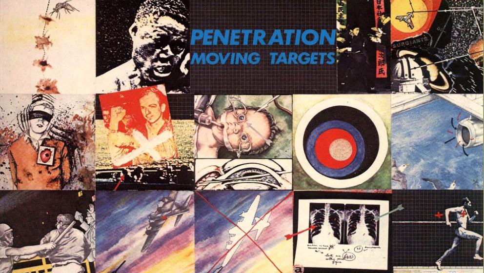 Penetration - 'Moving Targets'  Röhrend und kieksend ringt Penetration-Sängerin Pauline Murray mit der Schrammelgitarre von
