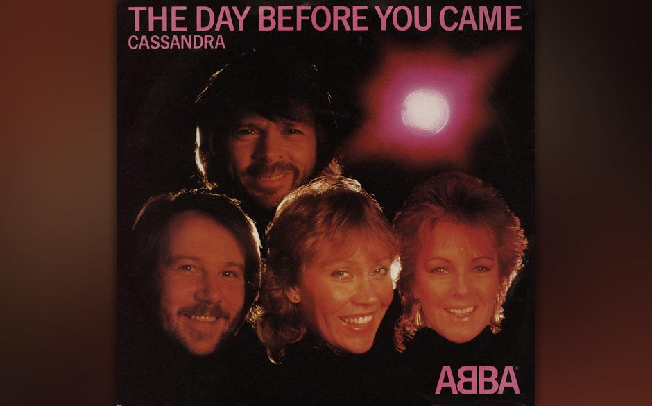 3. 'The Day Before You Came'.  Die letzte Aufnahme, die letzte Single: Der legendäre Song besteht aus einem starren, redunda