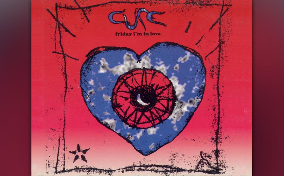 """49. 'Friday I'm In Love' Der muss doch kommen? Und kommt auch. Einer der wenigen überzeugenden Songs von """"Wish"""" und glei"""