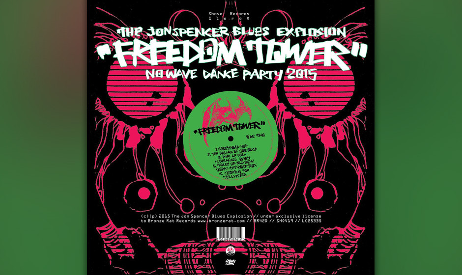 The Jon Spencer Blues Explosion - Freedom Tower
