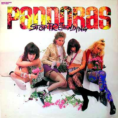 The Pandoras - 'Stop Pretending'  Frauen! Garage! Weiße Stiefel! Psy- chedelische Blumen! Und dann starb die grandiose Säng