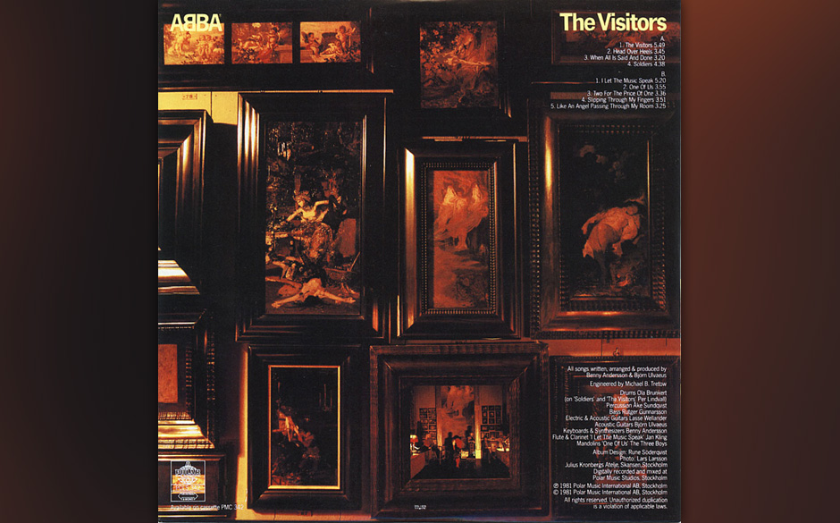 9. 'Our Last Summer'  Ein inniges Erinnerungs-Stück von Björn Ulvaeus, den er selbst zu den besten Songs von ABBA zählt: C