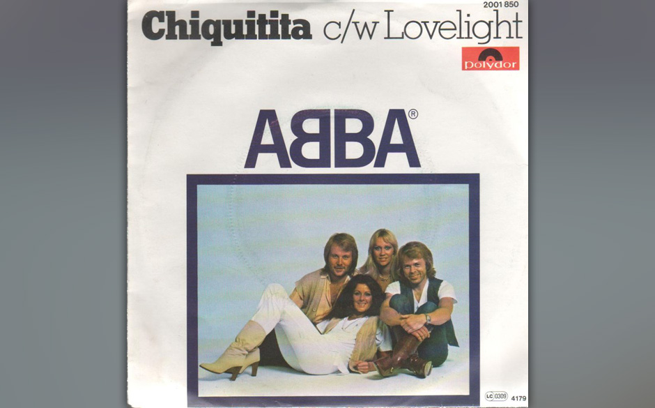 """17. 'Chiquitita'.   Eine der etwas kitschigen """"spanischen Balladen"""" - wie """"Hasta Manana"""" und """"Fernando"""" - die nic"""