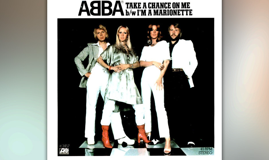 10. 'Take A Chance On Me'.  Der Legende nach Ist Björn das legendäre A Capella ('Take a chance, take a tck-a-ch-chance' )