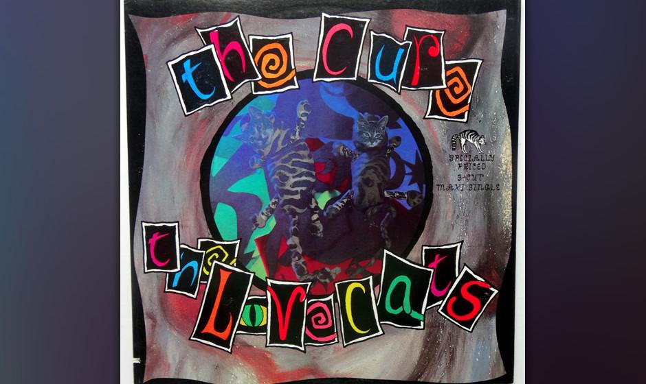 28. 'The Lovecats'. Die Evidenz dafür, was von den Cure noch zu erwarten war: Kaum wird eine Band für verrückt erklärt, w