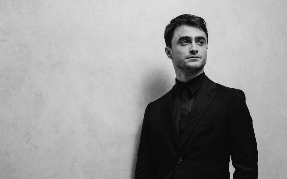 TORONTO, ON - SEPTEMBER 06:  (EDITOR'S NOTE: Image has been converted to black and white) Actor Daniel Radcliffe poses for a