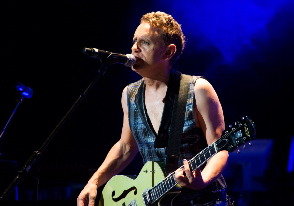 CLARKSTON, MI - AUGUST 22:  Martin Gore of Depeche Mode performs during their tour opener in support of The Delta Machine Tou