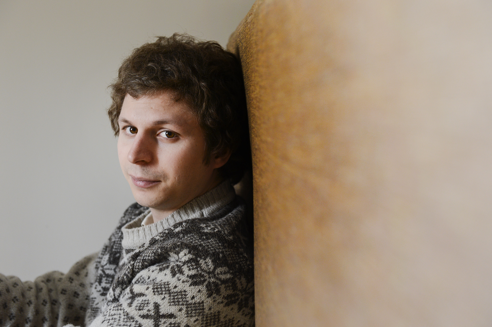 TORONTO, ON - APRIL 25: Canadian actor, Michael Cera poses for a photo Thursday April 25, 2013 in Toronto while promoting the