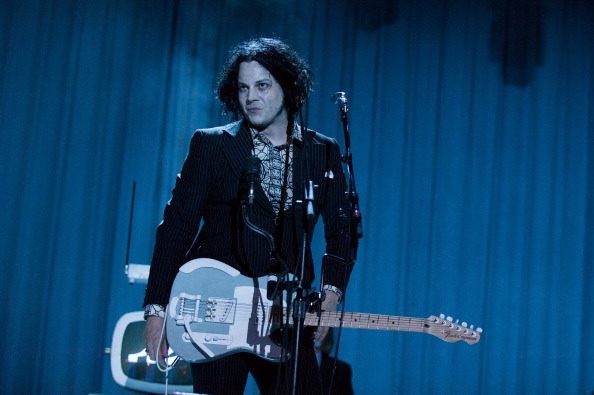 MANCHESTER, TN - JUNE 14:  Jack White performs on stage at Bonnaroo Music And Arts Festival>> on June 14, 2014 in Manch