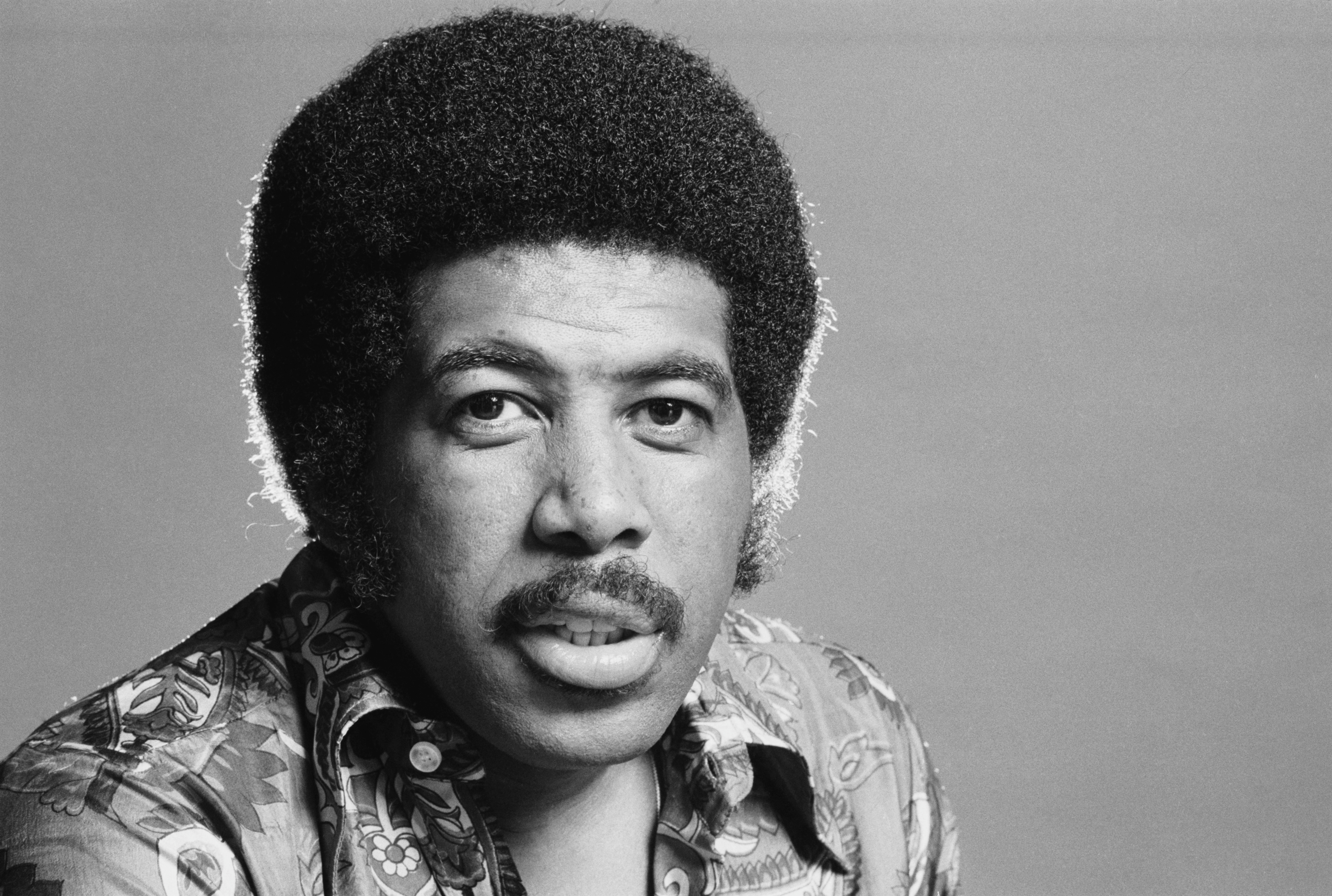 American soul and R&B singer-songwriter Ben E. King, 14th August 1974. (Photo by Michael Putland/Getty Images)