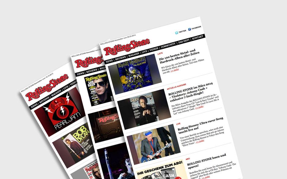 Der Rolling-Stone-Newsletter