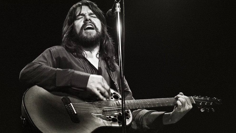 ROTTERDAM, NETHERLANDS - DECEMBER 3: Bob Seger performs on stage at Ahoy on 3rd December 1980 in Rotterdam, Netherlands. He p