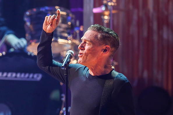 ERFURT, GERMANY - OCTOBER 04: Bryan Adams attends Wetten, dass..? from Erfurt on October 04, 2014 in Erfurt, Germany. (Photo