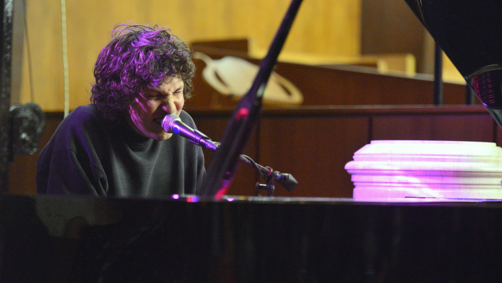 AUSTIN, TX - MARCH 20:  Piano player/singer Tobias Jesso Jr. performs onstage at the Central Presbyterian Church on March 20,