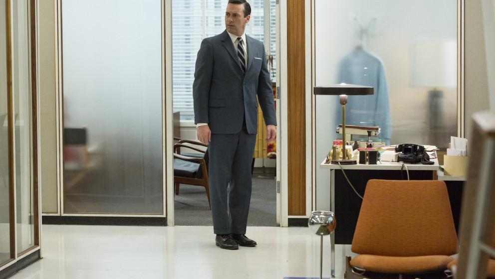 Jon Hamm as Don Draper - Mad Men _ Season 7, Episode 4 - Photo Credit: Michael Yarish/AMC