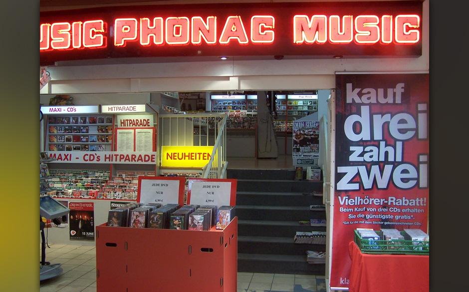 Plattenladen der Woche: PHONAC MUSIC Galerie Kleiner Markt 66740 Saarlouis