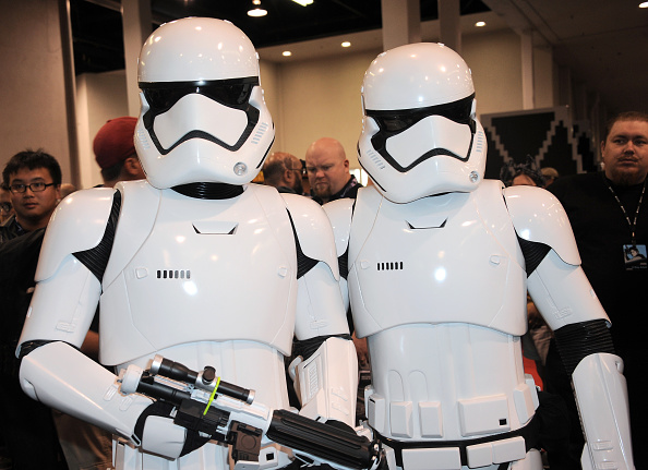 at Day One of Disney's 2015 Star Wars Celebration held at the Anaheim Convention Center on April 16, 2015 in Anaheim, Califor