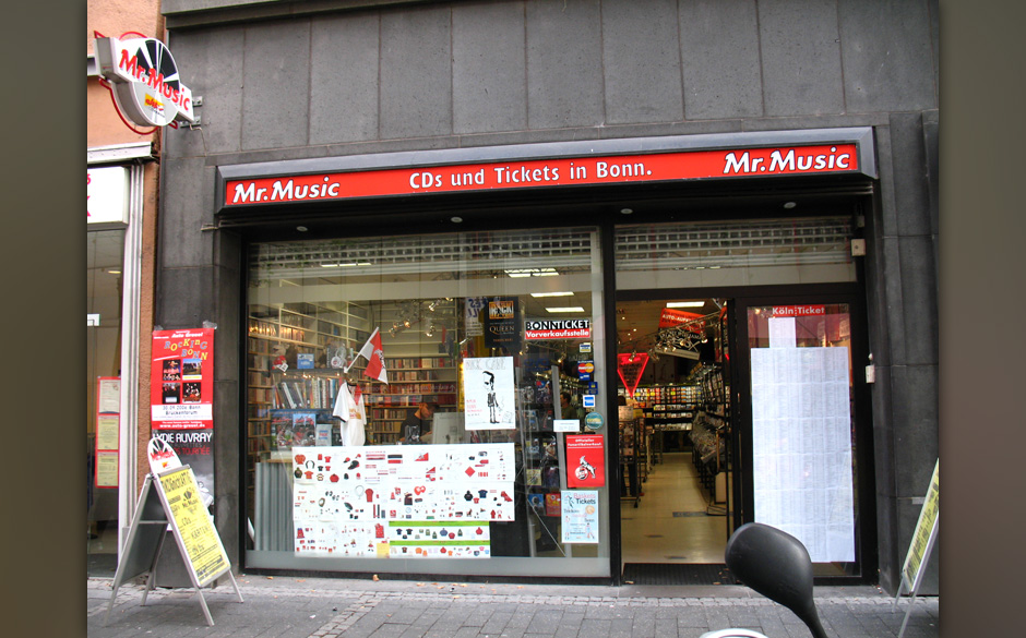 Plattenladen der Woche: Mr. Music Maximilianstr. 24 53111 Bonn