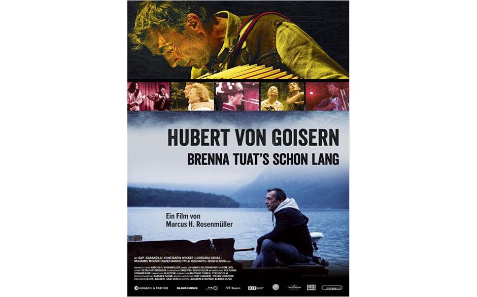 Hubert von Goisern - Brenna tuat's schon lang; Start: 23.4.