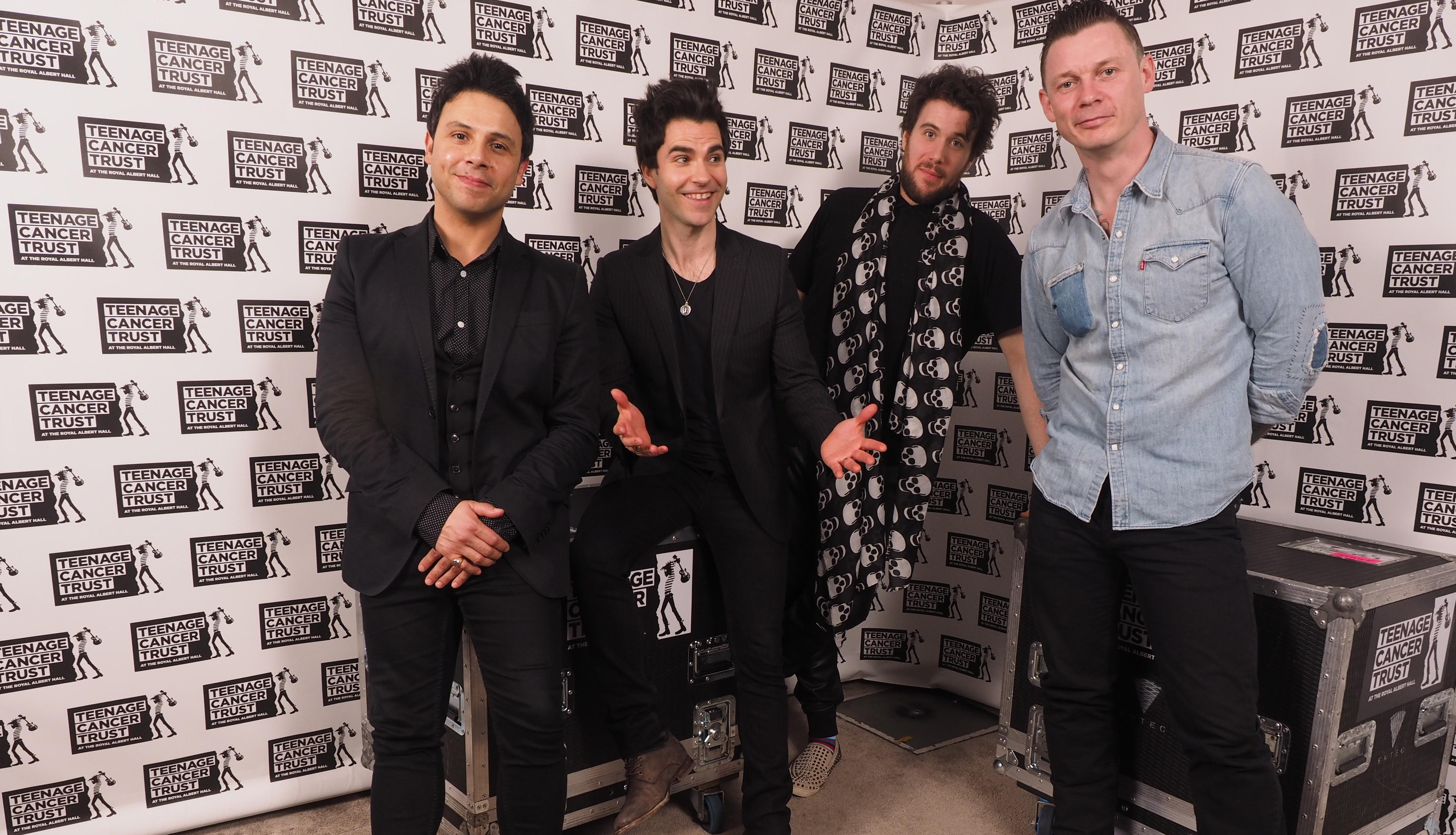 LONDON, ENGLAND - MARCH 23: (L-R) Adam Zindani, Kelly Jones, Jamie Morrison and Richard Jones of the Stereophonics perform fo