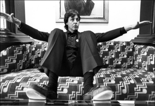 Paul McCartney 1980 (Photo by Michael Ward/Getty Images)