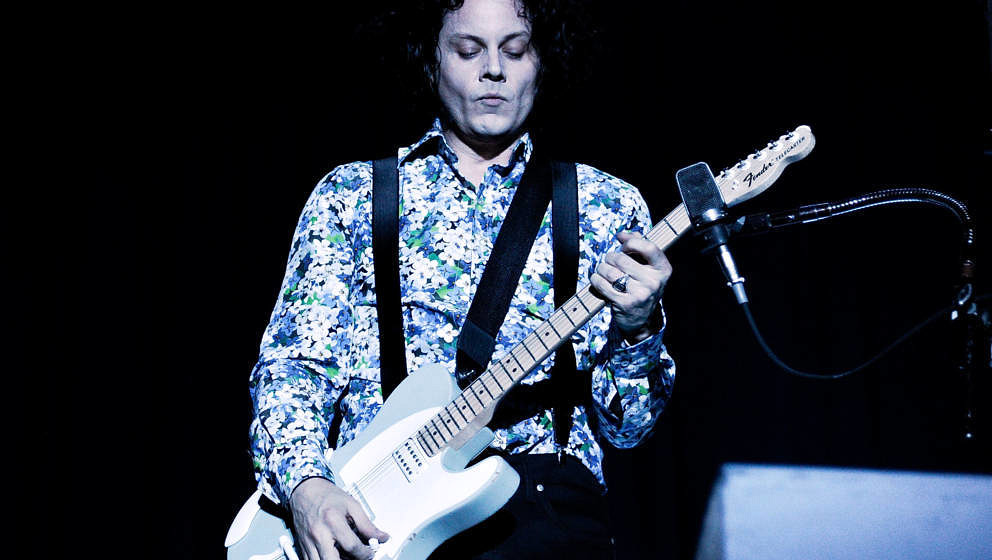 NEW YORK, NY - JUNE 07:  Jack White performs during the 2014 Governors Ball Music Festival at Randall's Island on June 7, 201