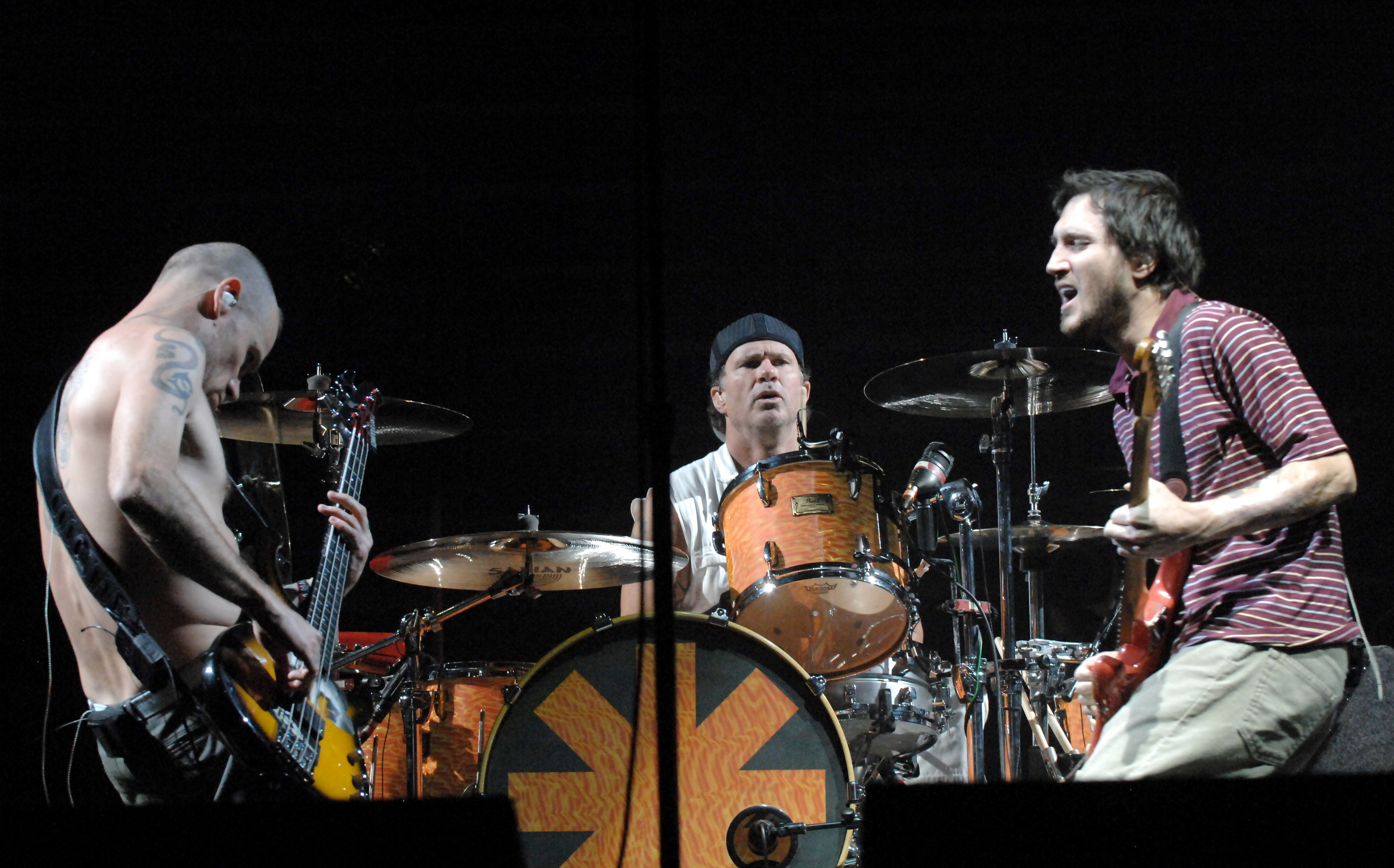 Red Hot Chili Peppers live, 2007
