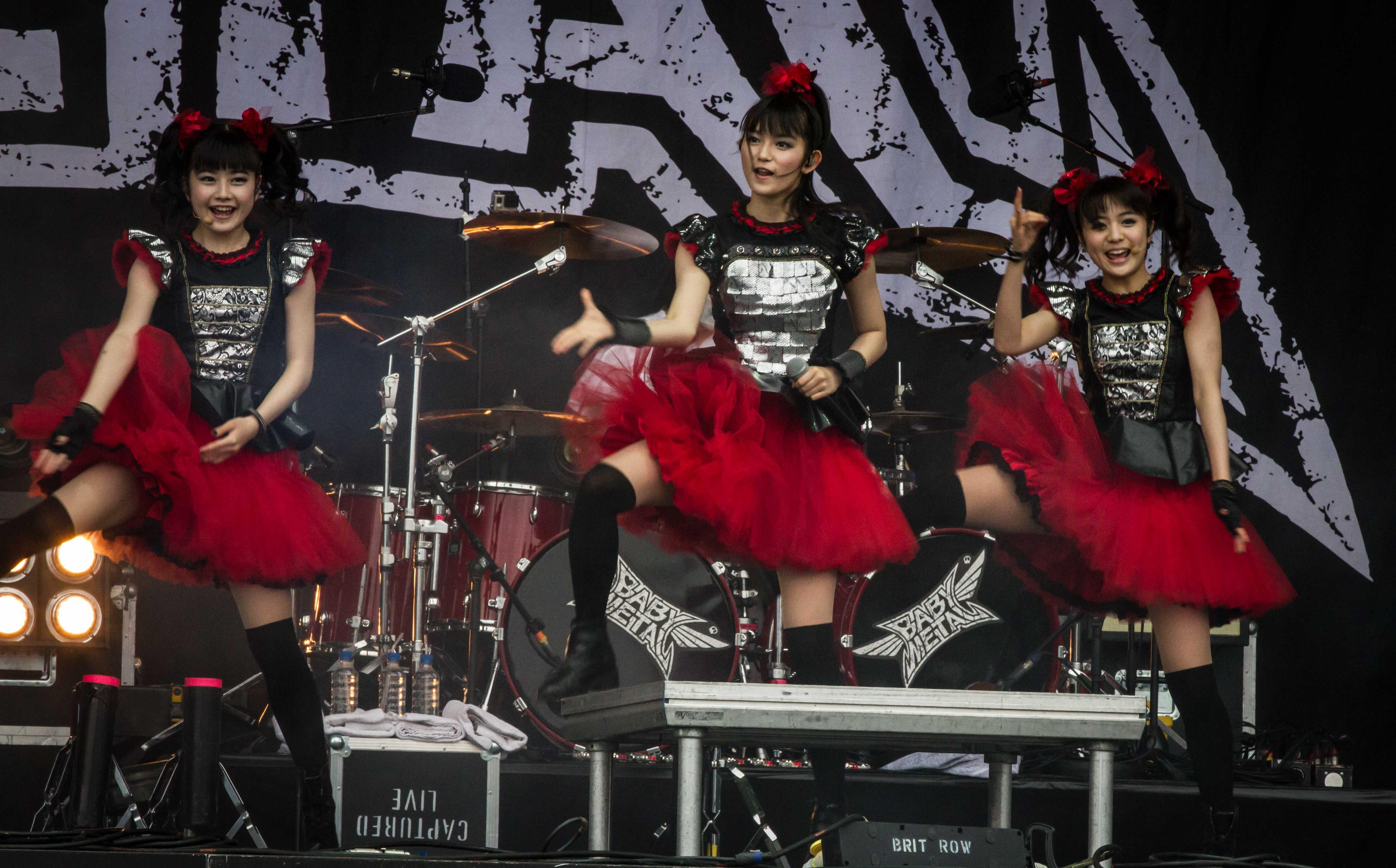 Babymetal, Rock im Revier 2015