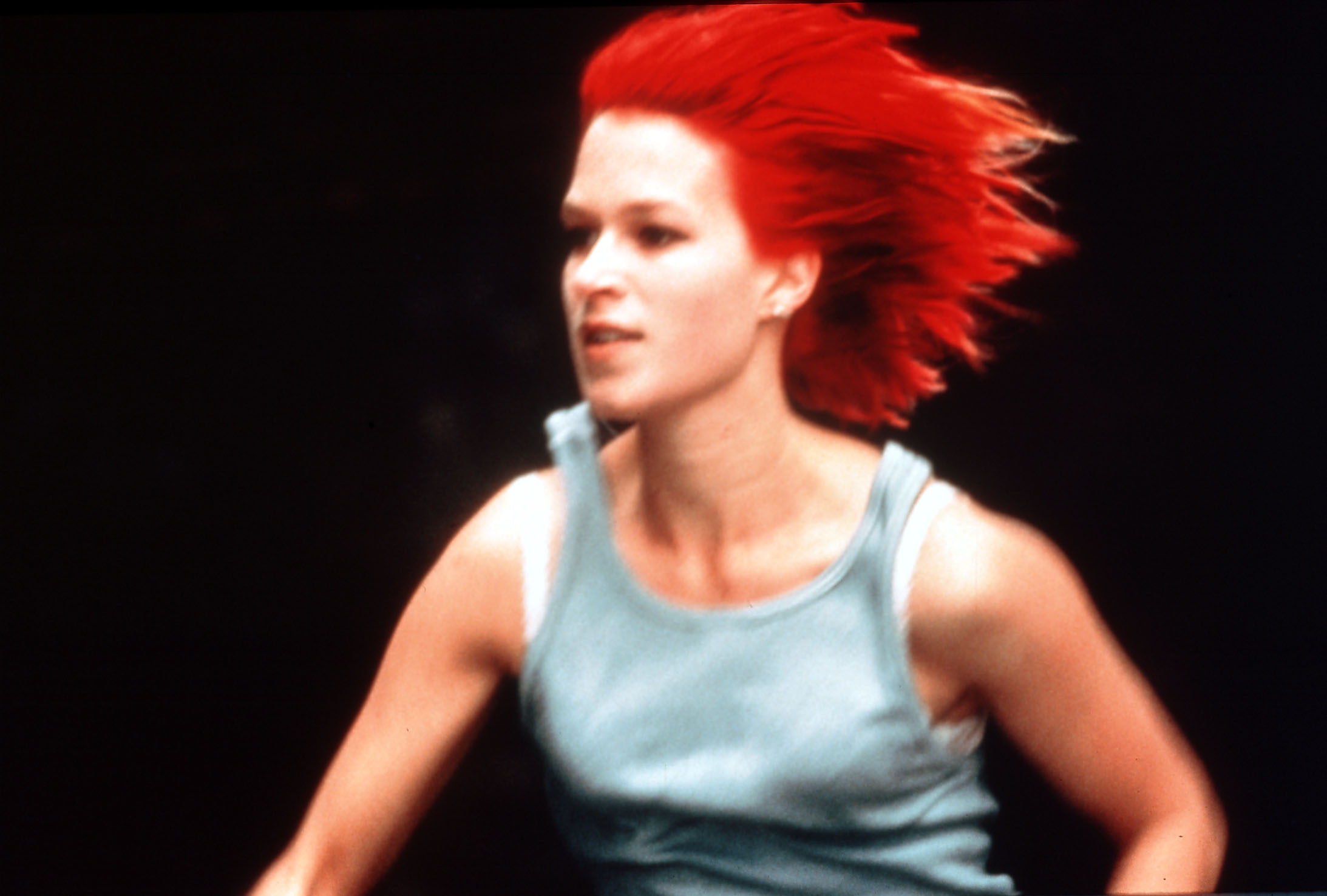 RUN LOLA RUN (GER1998) aka LOLA RENNT FRANKA POTENTE AS LOLA     Date: 1998 (Mary Evans Picture Library) Keine Weitergabe an