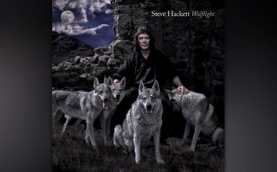 Steve Hackett: 'Wolflight'. Artistisches Geklöppel, Weltraumsinfonien, Geisterchöre, geölte Soli.