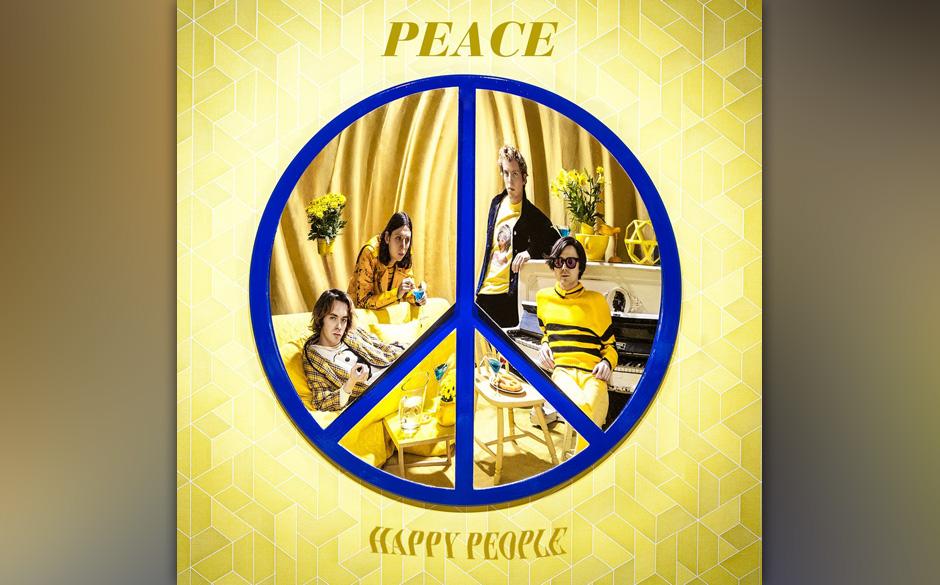 Peace: 'Happy People'. Der vollmundige Pop der Briten klingt leider etwas zu seicht.