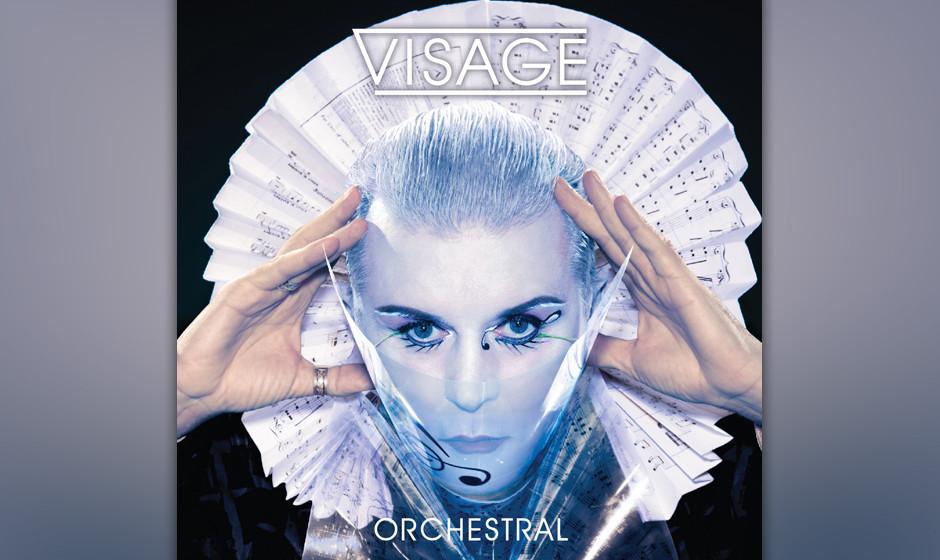 Visage: 'Orchestral'. Alte Hits, unnötig verkitscht  – von allem viel zu viel.
